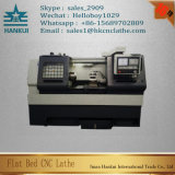 Ck6180 수평한 CNC 선반 4 위치 전기 포탑