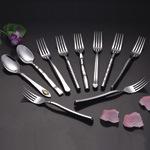 Комплект ножа вилки ложки изделий таблицы
