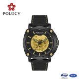 Relógio luxuoso simples dos homens da caixa de relógio da fibra do carbono do produto novo