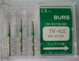 Diamond Burs의 치과 Equipment (High speed handpiece) (3PCS/box를 위해)