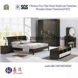 Jogos de quarto luxuosos do apartamento de Dubai para a mobília do hotel (705A#)