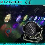 54X3w bon marché RGBW DEL colorée peut PAR la lumière de 57 étapes