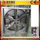 Jinlong landwirtschaftlicher industrieller prüfender Ventilator-zentrifugaler Blendenverschluss-Absaugventilator