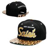 ヒョウの版画コレクションのSnapbckの帽子