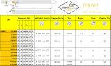 Cutoutil Psbnr/L 1616h09 para Hardmetal de acero que corresponde con el torno estándar de los mangos de maniobra