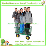 Il carrello a base piatta della maglia del giardino con la maglia smontabile parteggia (TC4207H)