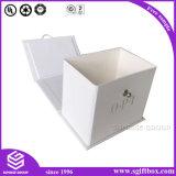 Rectángulo de regalo de empaquetado del encierro de la cartulina magnética plegable del papel