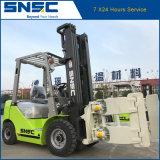 Chariot élévateur diesel de la Chine Snsc 2ton avec la bride de papier de roulis
