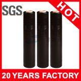 Película preta do envoltório do estiramento da cor de LLDPE