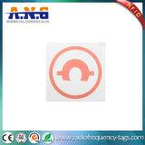 Tag reusáveis da biblioteca RFID do adesivo RFID de 50mm do Tag/de programação