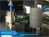 Acero inoxidable 304 500liters tanque de mezclado Capacidad de mezcla