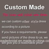 Vestido de casamento real G1866 da catedral de cristal nupcial luxuosa dos grânulos dos vestidos de esfera dos Rhinestones