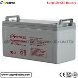 Batterie profonde 12V120ah de gel de cycle de constructeur pour le système d'alimentation solaire