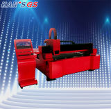 Tagliatrice del laser della fibra di prezzi bassi per lo strato di piastra metallica (3000X1500)