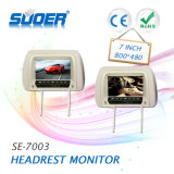Suoer 7 Zoll-Auto-Monitor-Auto-Kopfstützen-Video-Player (SE-7003)