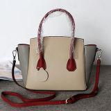 암소 가죽 핸드백 특별한 어깨에 매는 가방 색깔 충돌 핸드백 Emg4687