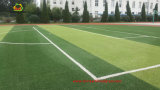 Herbe artificielle du football UV de protection avec la base de sable