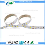 Tira impermeable blanca modificada para requisitos particulares de CRI90 IP65 8700lm/roll SMD2835 el 12W/M LED