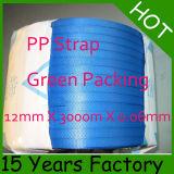 物質的な優れたポリプロピレンの包装ストラップをリサイクルしなさい