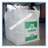 Grandi sacchetti tessuti pp bianchi o beige per trasporto minerale