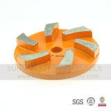 Placa de moedura concreta de Velcro/almofada de moedura F06 do assoalho