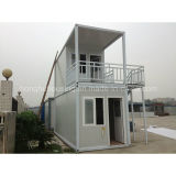 Diseño de la casa del envase de Prefabricted del bajo costo