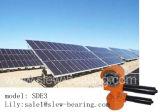 ワームギヤ減力剤の太陽エネルギーシステム回転駆動機構Se3モデル