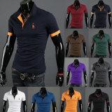 T-shirt 100% en gros de polo de coton de golf d'homme pour les hommes (A305)