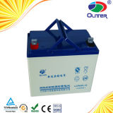 Oulite 12V100ah Solar Deep Cycle Lead Acid Battery con lo SGS MSDS Certificates del CE di TUV