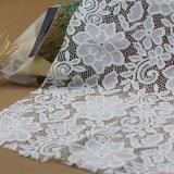Lacet en nylon de tissu d'extension de maille de broderie pour des accessoires de vêtements