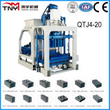 Qtj4-20 Concrete HollowはMachineをかナイジェリアの具体的Brick Making Machinery妨げるForming