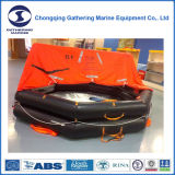 Solas CCS y aprobado por la CE lanzándolas por la borda la balsa salvavidas inflable