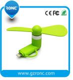 Mini ventilateur de petit instrument avec le port d'iPhone d'Andriod pour le smartphone