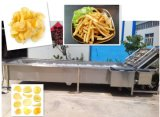 Chaîne de production normale de pommes chips de capacité différente