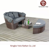 Rattan esterno Big Daybed in Brown (1215)