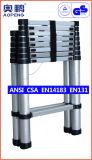 Telescopische Ladder van het Aluminium van de Uitbreiding van de Kruk van de Stap van het Huishouden van het staal de Uiteindelijke (ap-509-460)