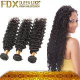 Onda profunda do cabelo brasileiro novo do Virgin da chegada para a senhora de África