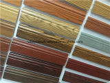 Placa de contorno impermeável do PVC da forma do lustro elevado