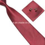 Способ Striped Cufflinks Hanky связи Microfiber Mens установленные оптом в Китай