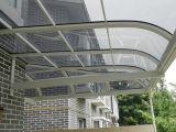 Riparo della tenda della finestra della tenda del policarbonato di DIY o baldacchino del portello
