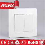 Europäisches CER Approval 2gang Switch Socket (N-L2K)