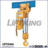 O alumínio Dir-Moldou a grua Chain elétrica do corpo