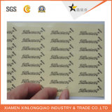 Etiqueta engomada de papel impresa alta calidad de la impresión de la etiqueta adhesiva del código de barras del vinilo