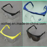 Lente clara con los anteojos de seguridad amarillos del marco, Eyewear protector, vidrios del ojo, gafas de seguridad del Ce En166, fabricante de los anteojos de seguridad de la lente de la PC
