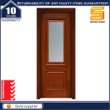 Glass를 가진 호화스러운 Interior Solid Wood Panel Doors