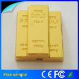 China Großhandels-Goldstab Pendrive 8GB USB-2.0