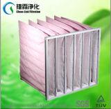 F5 F6 F7 F8 F9 Filter van de Zak van de Zak van de Vezel van het Systeem van HVAC de de Synthetische/Media van de Filter
