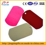 Etiqueta de perro de encargo del metal del surtidor de China, etiqueta conocida suave de animal doméstico del esmalte