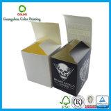 Rectángulo de empaquetado plegable barato de encargo del papel