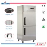 Aprovaçã0 do Ce e único tipo congelador comercial do congelador da temperatura da porta dobro para o hotel e o restaurante feitos em China